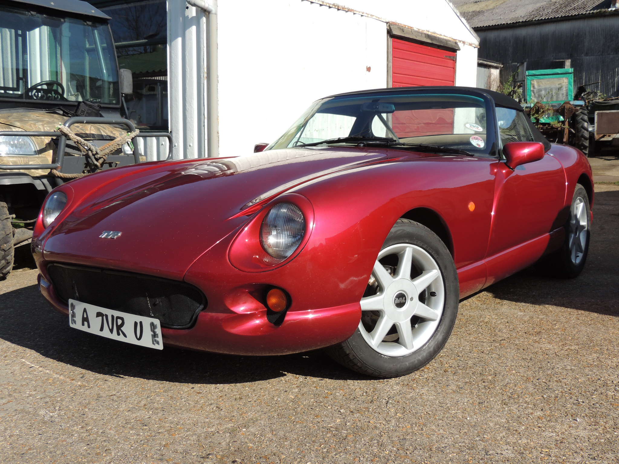 side Inspiring Tvr Griffith Wheel Nut torque Cars Trend